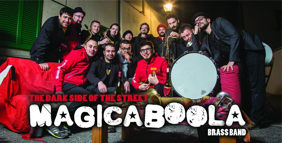 MAGICABOOLA  BRASS BAND